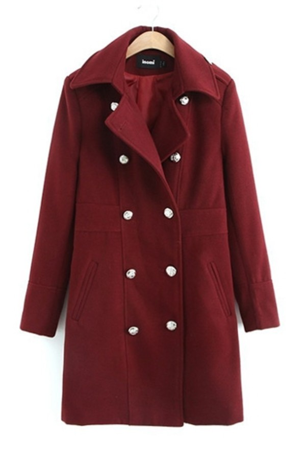 coat persunmall persunmall coat red coat