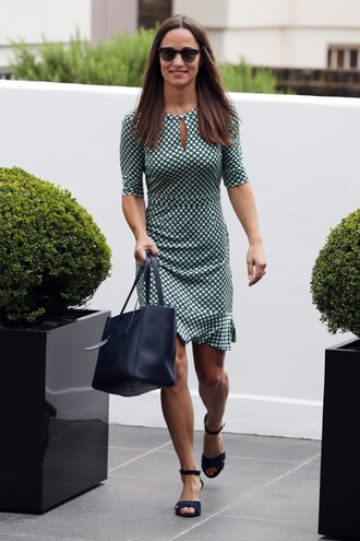dress pippa middleton bag sandal heels sunglasses summer dress shoes