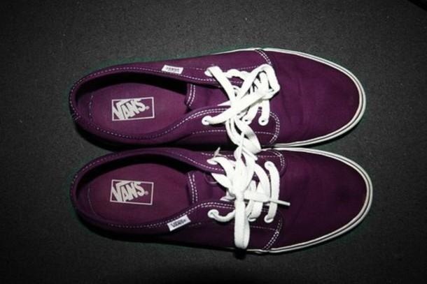 shoes vans purple pretty