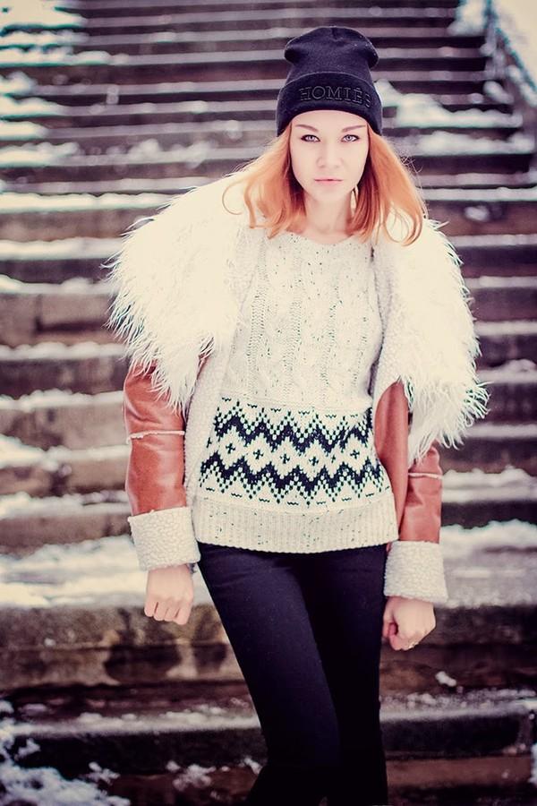gvozdishe coat sweater shoes jewels hat