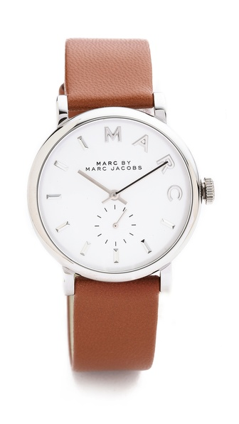 Marc by Marc Jacobs Leather Baker Watch | SHOPBOP