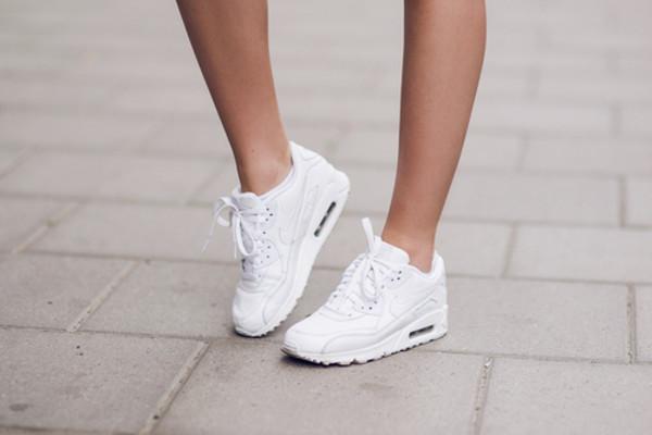 shoes nike air max 90 white sneakers nike air