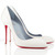 Christian Louboutin Corneille 100mm Satin Pumps Off White [Christian Louboutin Pointed Toe Pumps 2049] - $116.00 :