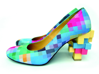 ANREALAGE  LOW PIXEL PRINT PUMPS ($500-5000) - Svpply