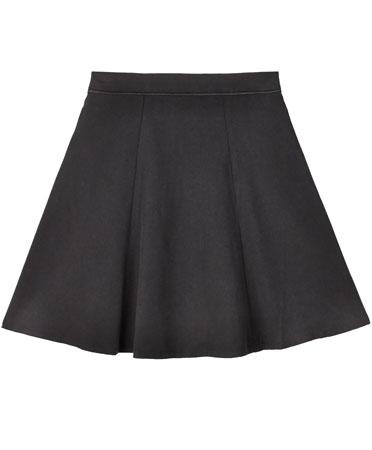 Wren Black Mini Skirt