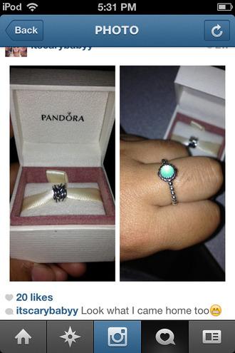 jewels pandora ring
