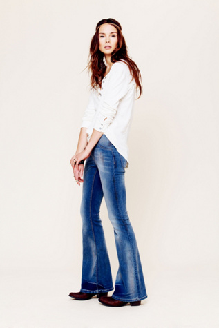 free people womens fp pull on kick flare