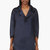 dsquared2 navy oversized silk tunic