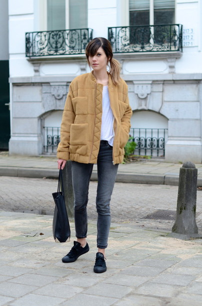 lovely by lucy blogger skinny jeans winter jacket