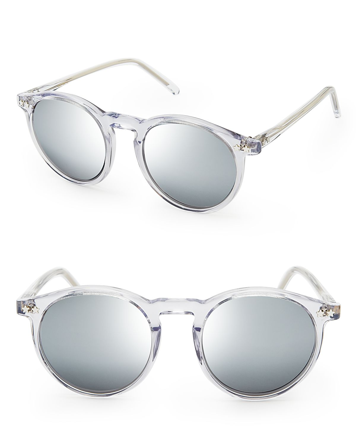 WILDFOX Steff Deluxe Mirror Sunglasses | Bloomingdale's
