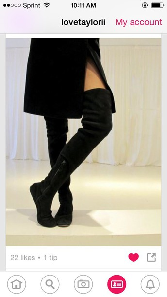 shoes boots heel high thigh high boots knee high boots over the knee
