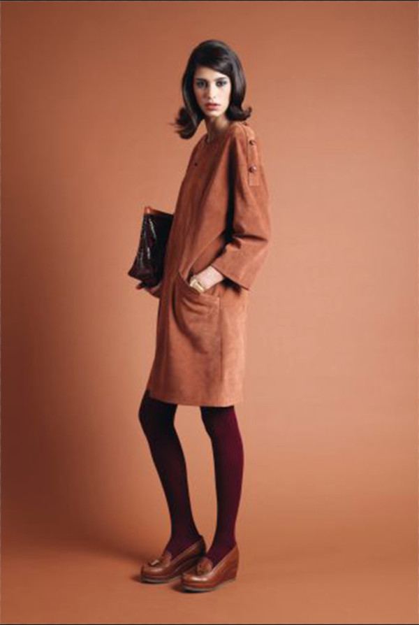 dress apc fashion lookbook shoes bag