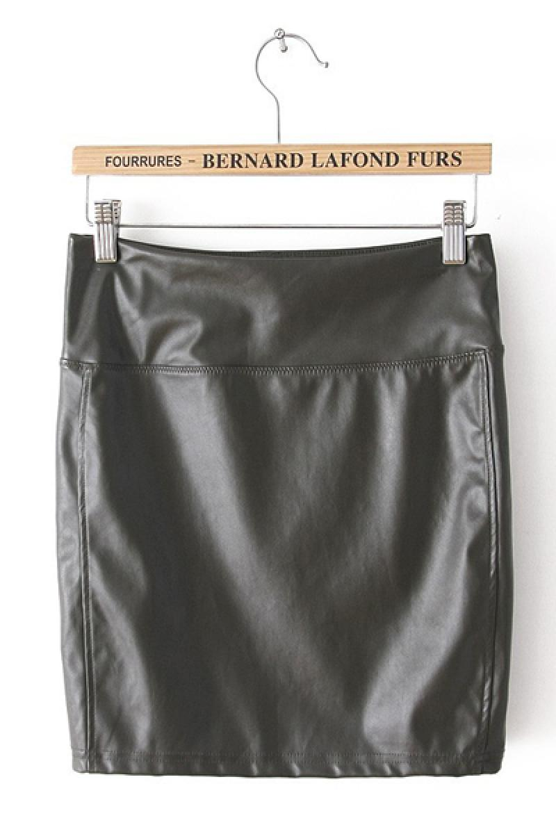 2013 New Stretchable PU Sexy Skinny Skirt,Cheap in Wendybox.com