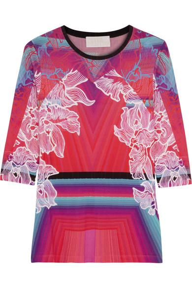 Peter Pilotto|J printed jersey top|NET-A-PORTER.COM