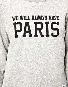 A Question Of   A Question Of Organic Paris Sweatshirt at ASOS