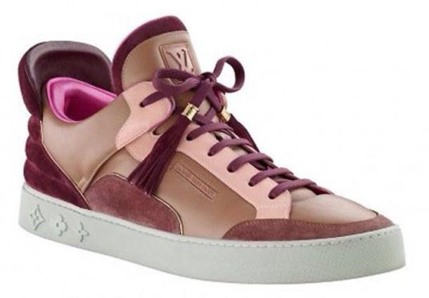 shoes sneakers louis vuitton