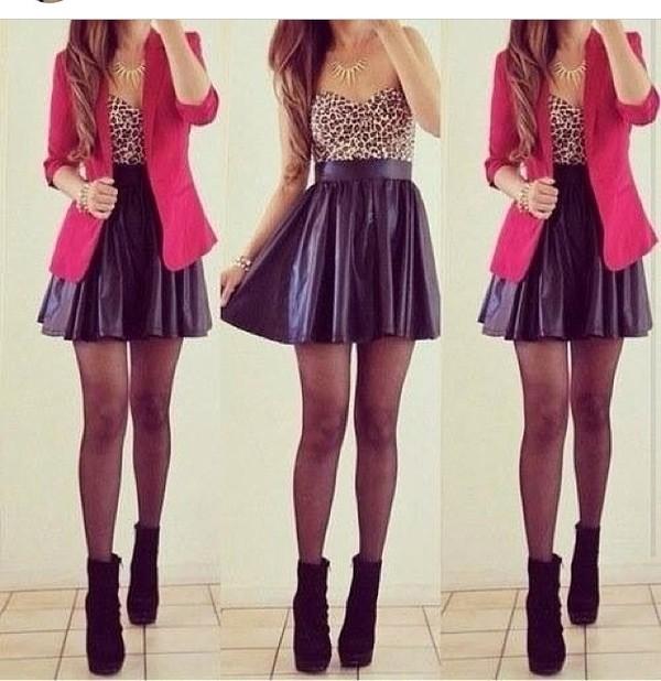 shirt high waist asymetrick black skirt skirt shoes jacket underwear