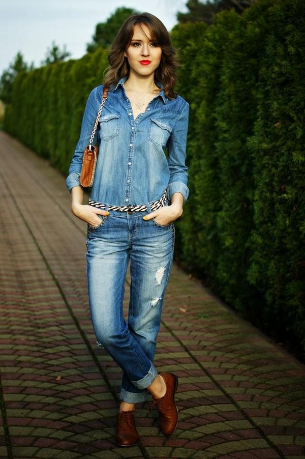 madame poupee jewels jeans belt shirt shoes bag