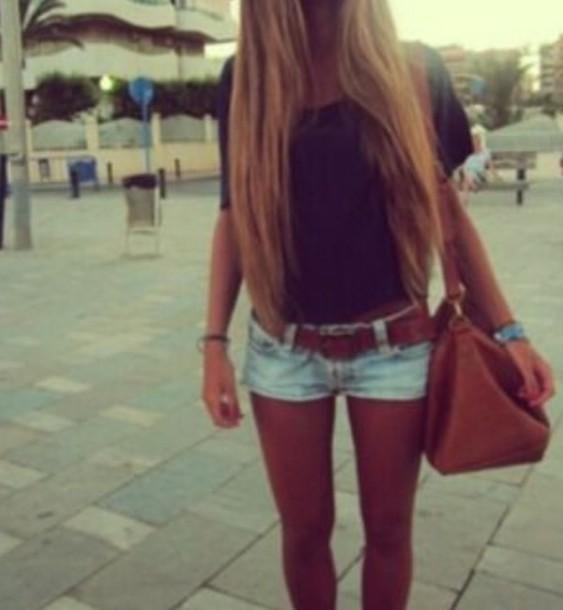 bag jeans top