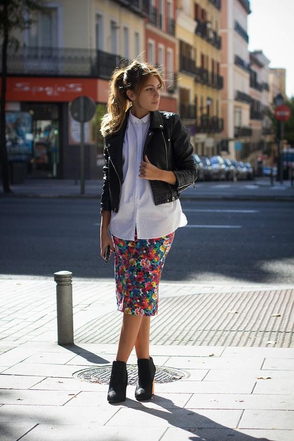 lucitisima skirt shirt jacket shoes