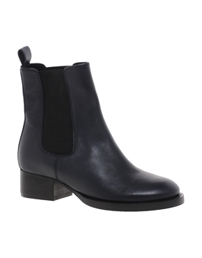 ASOS   ASOS ADVERSE Leather Chelsea Ankle Boots at ASOS