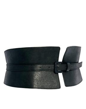 ASOS | ASOS Wide Waist Cincher Buckle Belt at ASOS