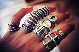 jewels jewelry silver ring silver ring armor ring