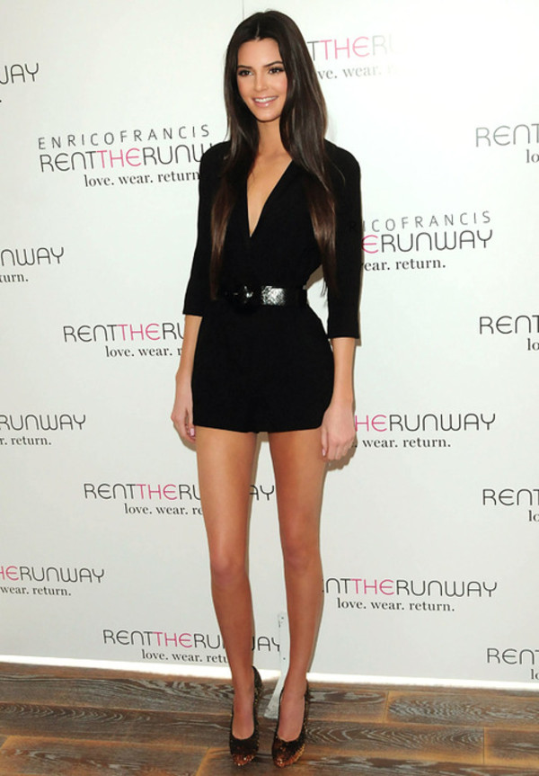 dress black dress kendall jenner