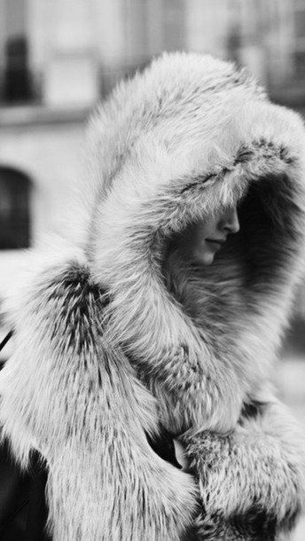 jacket fur coat fur fur jacket black and white fur hat