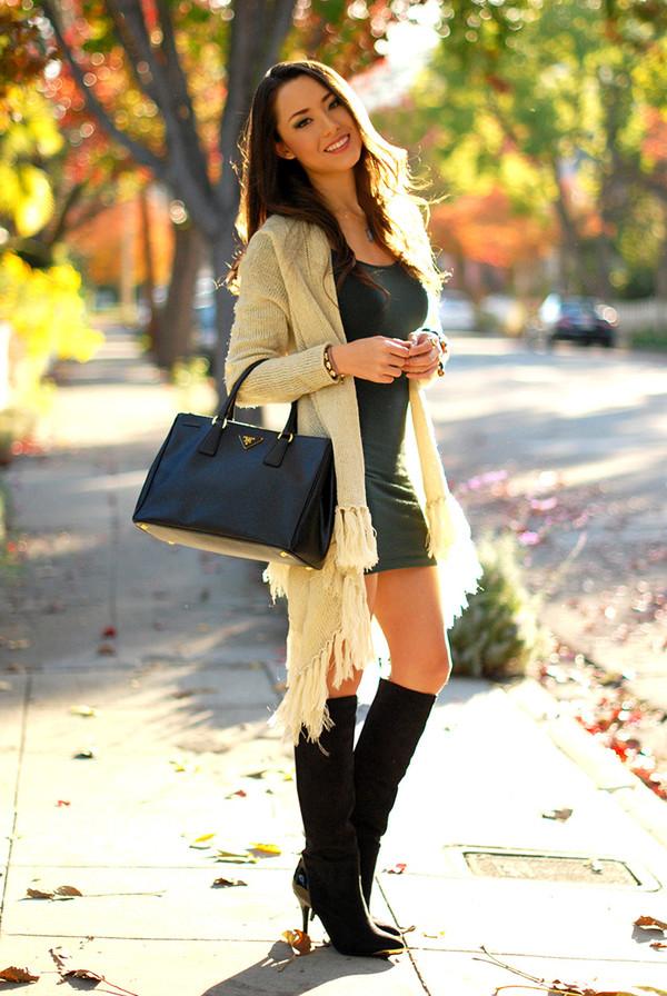 hapa time sweater dress shoes jewels bag