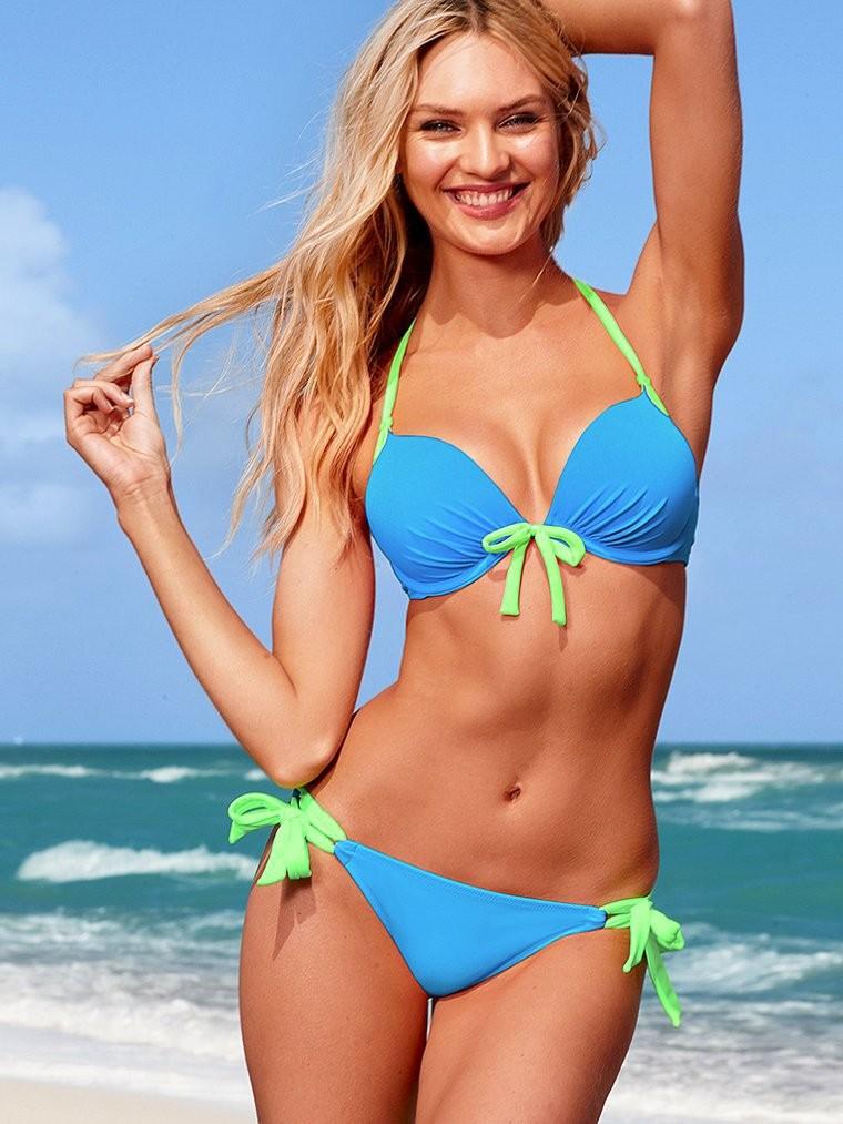 B032 VS Victoria Bikini Set Swimwear For Women Sexy Swimsuit Brand Beach wear Brazilian Biquini Bathing Suit Push Up Padded 2014-in Bikinis Set from Apparel & Accessories on Aliexpress.com