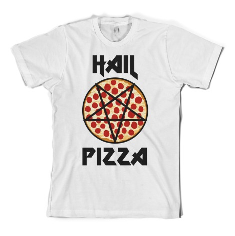 Hail Pizza White Girl Shirt : Shirts For A Cure