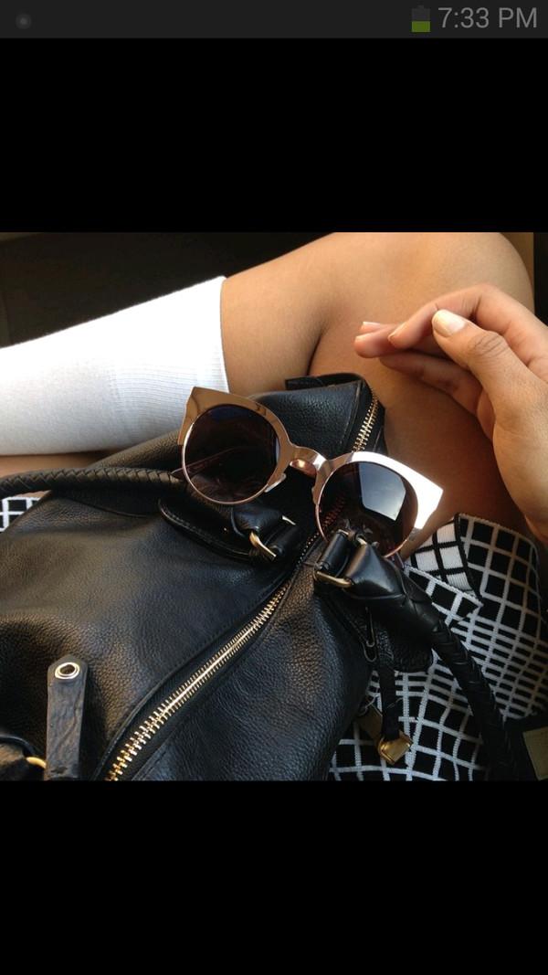 sunglasses gold framed sunglasses