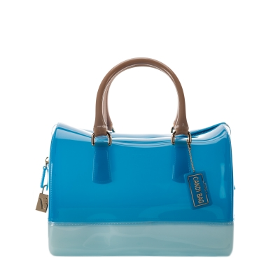 CANDY Satchel Atlantic, Dew, Moon Handbags - Furla - United Kingdom