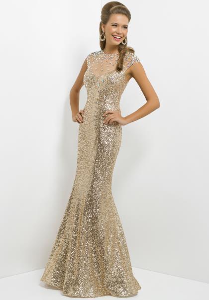 Blush Dress 9768 at Peaches Boutique