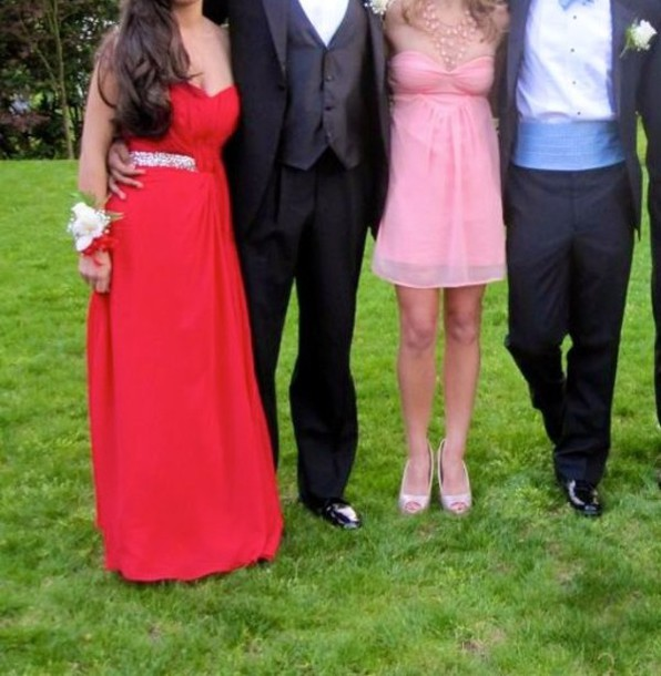 dress red dress prom