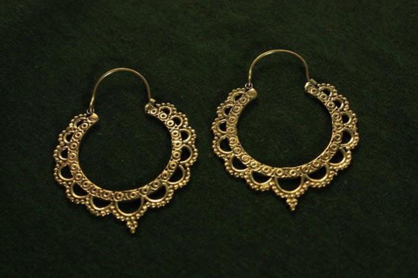 Super jewels, gypsy, hippie, ethnic, aztec, gold, tribal pattern  OI93