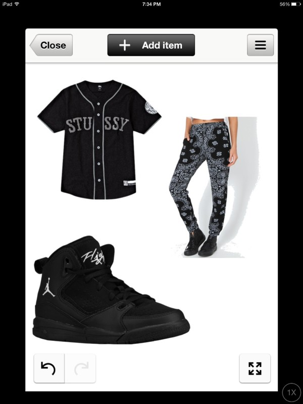 pants bandana print jacket shoes