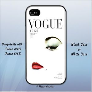 Vogue Phone Case Fits iPhone 4 4S 5 5S | eBay