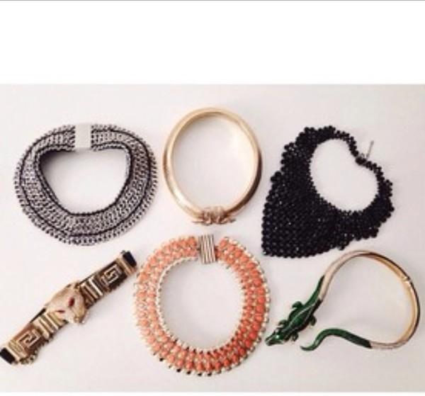 jewels bib necklaces collar necklace