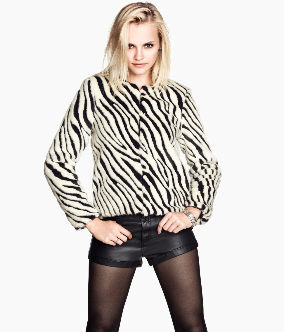 Aliexpress.com : Buy Free Shipping Zebra imitation fur coat from Reliable fur cashmere suppliers on ED FASHION.