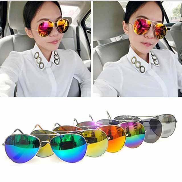 Fashion Men Women Eyewear Designer Cop Pilot Aviator Sunglasses Classic Shades | eBay