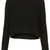 Knitted Rib Curve Crop Jumper - Knitwear  - Clothing  - Topshop
