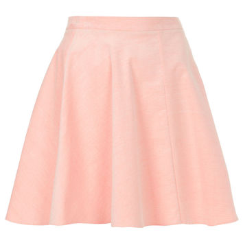 Pink Baby Cord Skater Skirt - Skirts - Clothing - Topshop on Wanelo