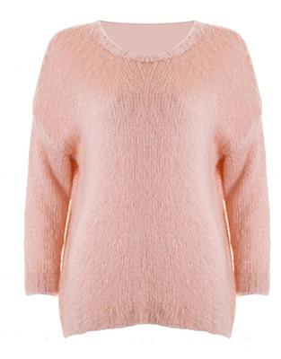 ASOS Fashion Finder | LOVE Blush Oversized Fluffy Knit