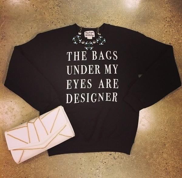 shirt cute black designer sweater t-shirt vintage pullover