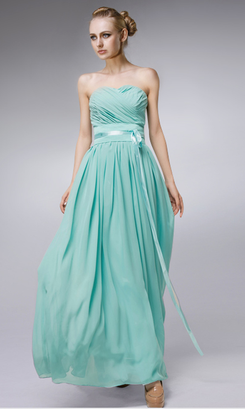 Cheap Long Chiffon Sweetheart Formal Dress FDA0220 [FDA0220] - AUD$155.05