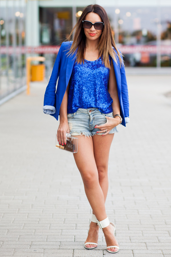 cashmere in style jacket t-shirt shorts bag shoes sunglasses