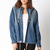 Life In Progress™ Faded Denim Parka | FOREVER21 - 2000110154