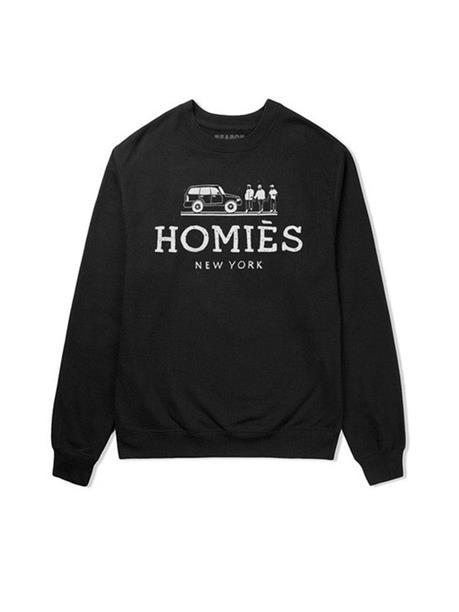 Reason Clothing - Reason Homies Crewneck - Black | VAULT